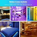 LED Strip Light, 16.4 ft Waterproof Music RGB 5050 Led Rope Lights Color Changing LED Light Strip Kit with Remote… 13