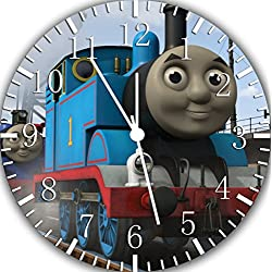 Thomas Train Frameless Borderless Wall Clock W365 Nice For Gift or Room Wall Decor