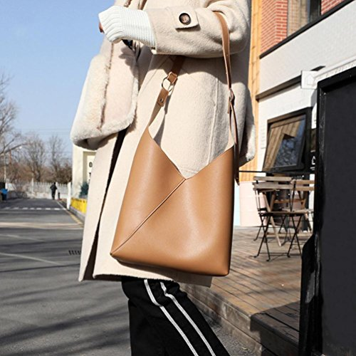 Messenger Bag Crossbody Brown Sunward Lady Purse Fashion Women Handbag Women Vintage Slim 2018 Shoulder Ov1xvqP8wf