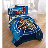 Marvel Comics Avengers Assemble Twin Bed Sheet Set