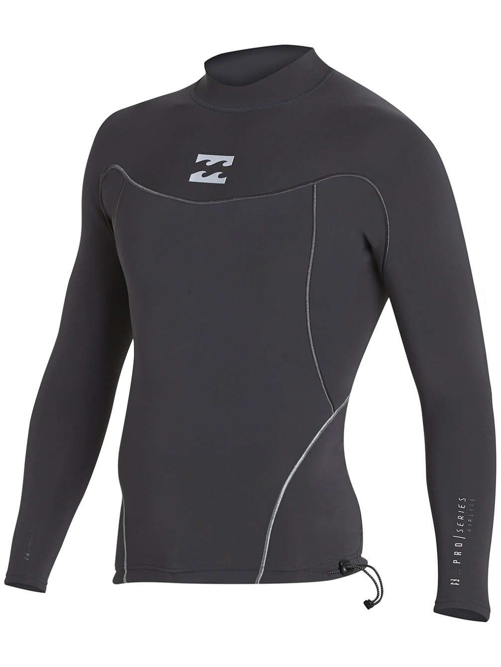 BILLABONG 2018 Proairlite 1mm Long Sleeve Neoprene Top schwarz Sands H41M01