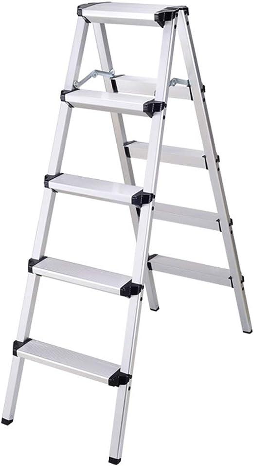 RenGuan Escalera Plegable de múltiples Funciones para el hogar ...