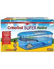Kaytee 100533441 CritterTrail Super Habitat for Small Animals Blue