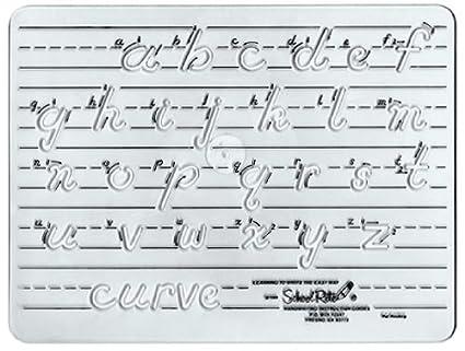 amazon com school rite handwriting templates transitional