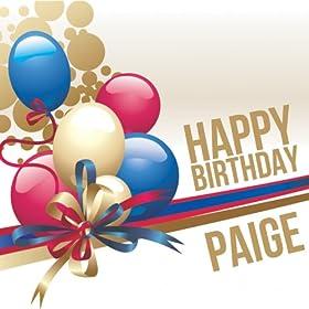 Amazon.com: Happy Birthday Paige: The Happy Kids Band: MP3 Downloads