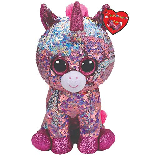 15cm Sequin Sparkle The Unicorn Plush Regular Stuffed Animal Collection Soft Big Eyes Doll Toy With Tag