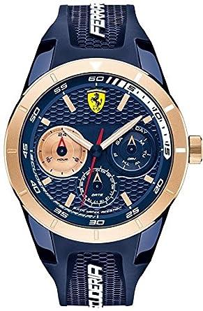 Ferrari De los hombres Watch Scuderia Ferrari Reloj 0830379: Amazon.es: Relojes