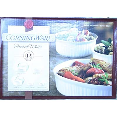 Click for CorningWare French White 12 piece set