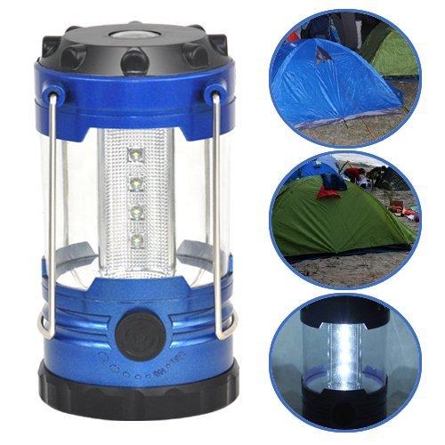 SODIAL(R) Nouveau Portable 12 LED Ajustable Randonnee Camping Tente Lampe Securite Boussole