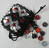Dragonhide Dice Bag Size Medium Knitted Scale Armor - Reptile