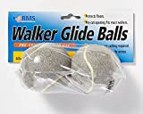 RMS Walker Glide Balls 6 Color Choices (Grey)
