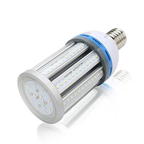 eSavebulbs 45W LED Corn Light Bulb 4500LM 6000K Daylight Indoor Outdoor Large Area Street Garage Parking Lot Lighting Lamp Ac 85V~265V