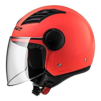 Casco Airflow Jet LS2 Helmets Matt Orange Talla XL