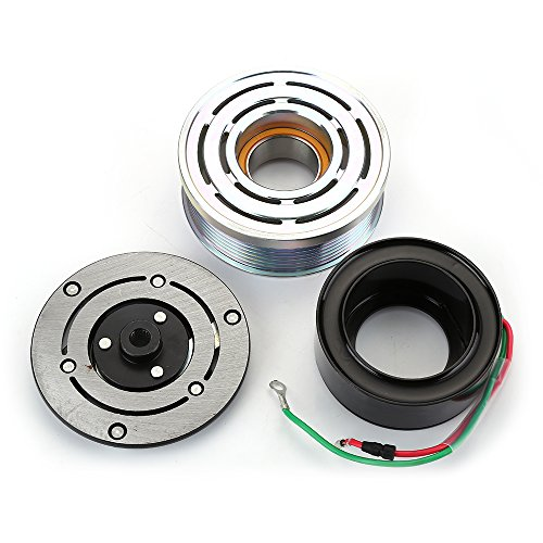 AC A/C Compressor Clutch Kit Pulley Bearing Coil Plate For HONDA CR-V CRV 07-14