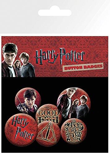 GB Eye LTD, Harry Potter, Icon Pack, Pack de Chapas: Amazon.es: Hogar