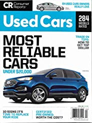 Used Cars - Most Reliable Cars - Consumer Reports 2021 April