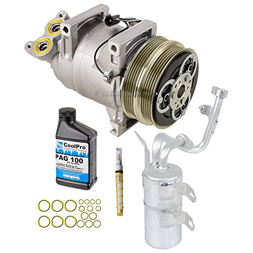 Ac S40 Volvo Compressor - OEM AC Compressor w/A/C Repair Kit For Volvo S40 V50 - BuyAutoParts 60-81557RN NEW