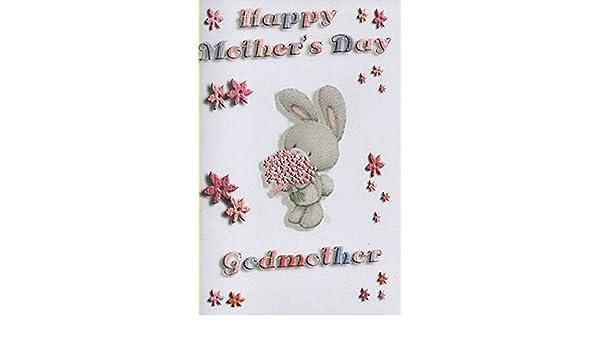 1d435042f6 Feliz día de la madre madrina  Amazon.es  Oficina y papelería