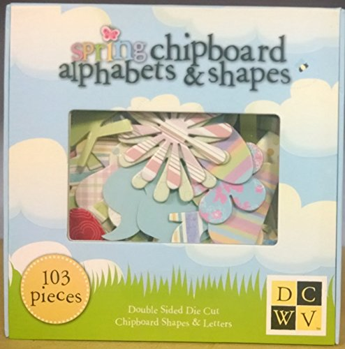 DCWV Spring 2007 Box Chipboard Alpha/Numbers