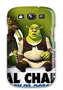Hot Slim Fit Tpu Protector Shock Absorbent Bumper Shrek Forever After Official Case For Galaxy S3 5025195K96726817