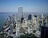 24 x 36 Giclee Print of Aerial View of New York City with Twin Towers of The World Trade Center Visible r46 2001 by Highsmith, Carol M,