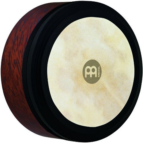 Meinl Percussion FD14IBO Irish Bodhran with Goat Skin Head, Brown Burl