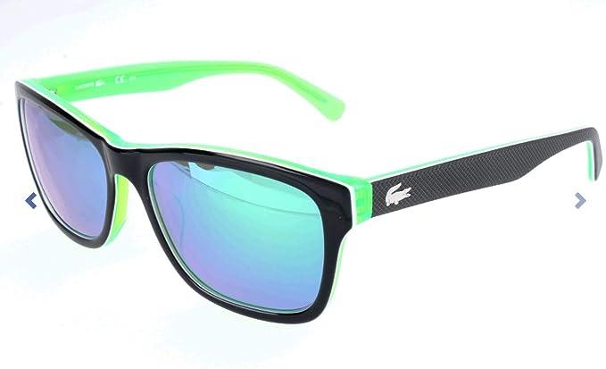 Lacoste Sonnenbrille L683s Gafas de sol, Black/Green, 55 ...