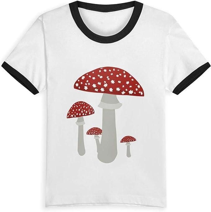 Queen Elena - Camiseta de algodón con Estampado de Dibujos Animados para niños y niñas Negro Negro (3 años: Amazon.es: Ropa y accesorios