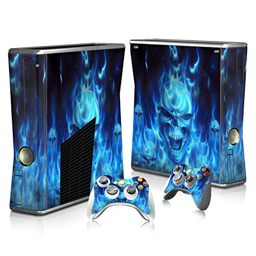 Used, Skin Sticker Decal Cover for Xbox 360 Slim Console for sale  Delivered anywhere in USA
