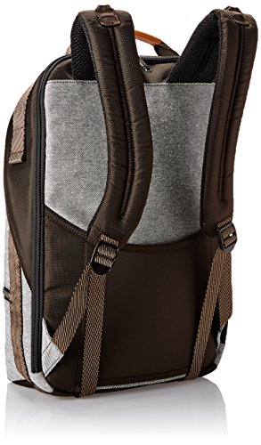 Tumi Alpha Bravo Cannon Backpack, Grey Heather/Brown, One Size