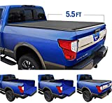 Tyger Auto T1 Roll Up Truck Tonneau Cover TG-BC1N9048 Works with 2017-2018 Nissan Titan | Fleetside 5.5' Bed | for Models with or Without The Utili-Track System