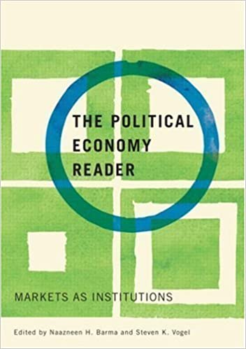 Book The Political Economy Reader: Markets as Institutions New Edition published by Routledge (2007)