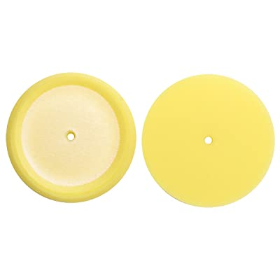 """S.M. Arnold 3.5"""" Micro Foam Buffing Pad, (Pack of 3 - Yellow [34-603]: Automotive"""