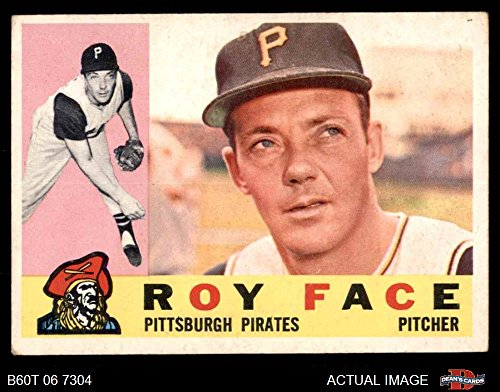 1960 Topps # 20 Roy Face Pittsburgh Pirates (Baseball Card) Dean's Cards 3 - VG Pirates ()