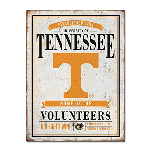 University of Tennessee Vintage Tin Sign