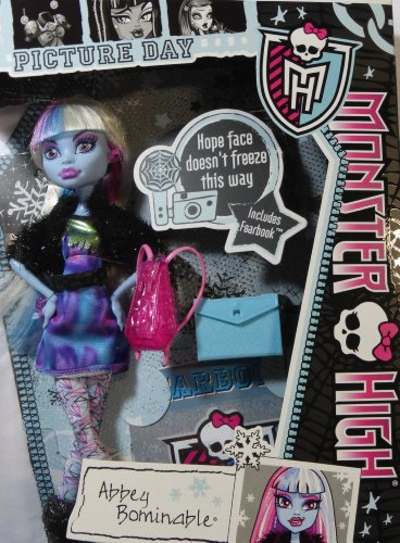 Monster High Picture Day Abbey Bominable Doll ()