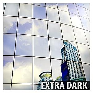 BDF S05 Window Film Daytime Privacy One Way Mirror Silver 5 (36in X 24ft)