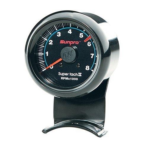 Sunpro Cp7906 Mini Super Tachometer Ii - Black Dial