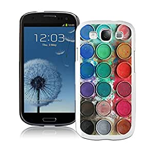 BINGO Trendy Watercolor Sets Witeh Brushes Samsung Galaxy S3 i9300 Case White 14 by icecream design