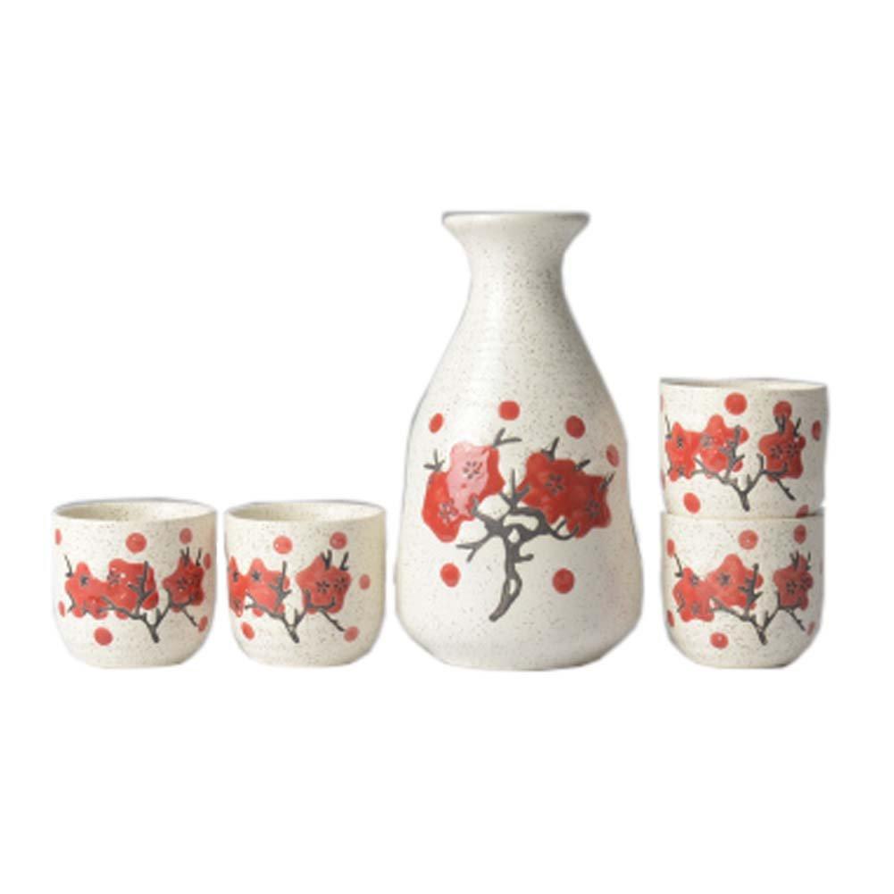 FANCY PUMPKIN Creative Sake Rice Wine Pitcher Cups Sets for Japanese Restaurant, 10