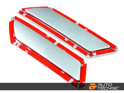 AutoTecknic Painted Front Bumper Reflectors - F30/ F31 3 Series (Glacier Silver Metallic A83)