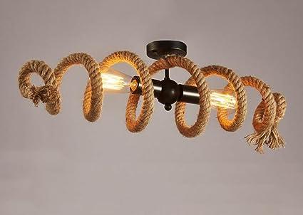 Plafoniere Soffitto Industriali : Cdbl plafoniera lampade da soffitto a corda per tubi di tubo dell