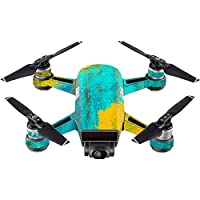 Skin For DJI Spark Mini Drone – Acrylic Blue | MightySkins Protective, Durable, and Unique Vinyl Decal wrap cover | Easy To Apply, Remove, and Change Styles | Made in the USA