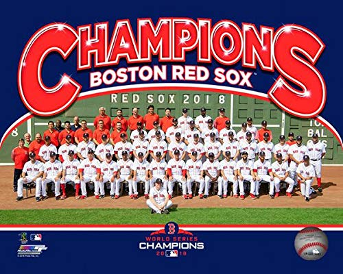 Red Sox 2018 World Series Champions Team Line-Up 8