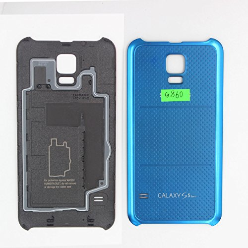 For Samsung Galaxy S5 Sport G860P Battery Door Back Cover - BLUE