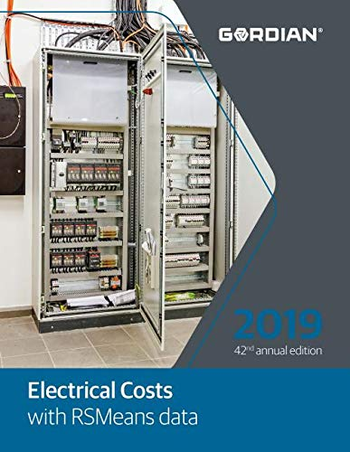 Electrical Costs with Rsmeans Data, 2019