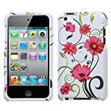 MyBat Apple iPod Touch 4G Phone Protector Cover - Lovely Flowers