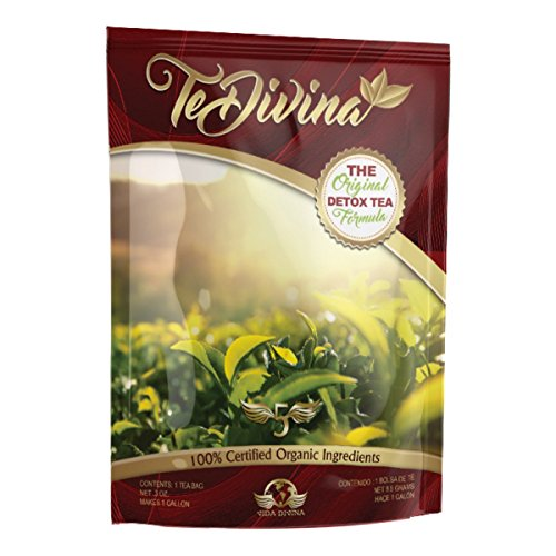 Tea Divina - Vida Divina Detox Tea One Week Supply 1 Pack The Original ()