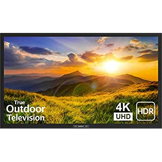 SunBrite 43-Inch Outdoor Television 4K with HDR - Signature 2 Series - for Partial Sun SB-S2-43-4K-BL (43-inch, Black)