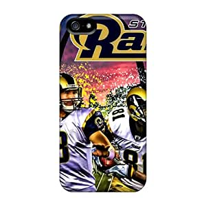 Defender Case For Iphone 5/5s, St. Louis Rams Pattern